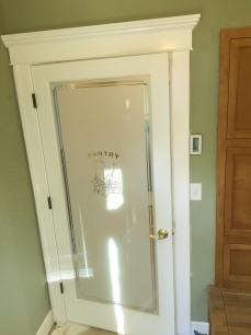 Traditional door casing